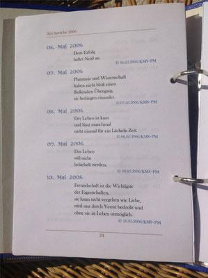 Karin Mettke-Schröder, Petra Mettke/Spruchreif/Spruchbandskript 1/2006/Seite 24