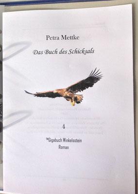 Petra Mettke/Gigabuch Winkelsstein 04/Das Buch des Schicksals/Druckskript 2011/Titelblatt
