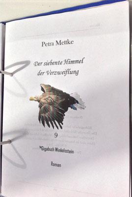 Petra Mettke/Gigabuch Winkelsstein 09/Der siebente Himmel der Verzweiflung/Druckskript 2013/Titelblatt