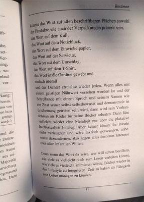 Karin Schröder, Petra Mettke/Resümee-PEN Heft 1/1998/Seite 11