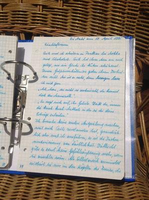 Petra Mettke/Gigabuch Michael 09/Originalordner/1995/Notat 404 auf Seite 79