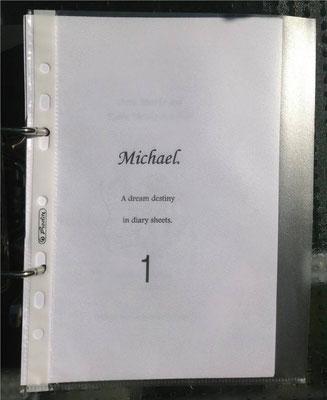 Petra Mettke, Karin Mettke-Schröder/Gigabuch Michael Volume 1/Druckskript/2011/Deckblatt