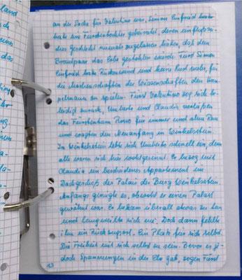 Petra Mettke/Gigabuch Winkelsstein 13/Original 2014/Seite 13