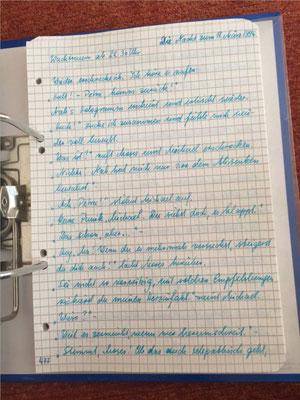 Petra Mettke/Gigabuch Michael 13/Originalordner/1996/ Seite 477