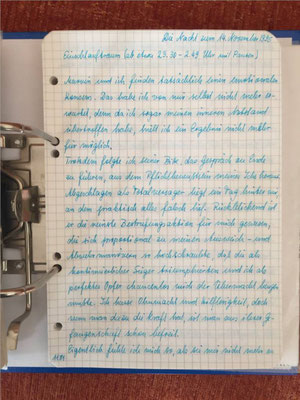 Petra Mettke/Gigabuch Michael 12/Originalordner/1995/ Seite 1181