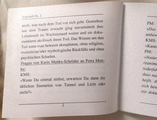 Petra Mettke/Tod in der Zukunft/Nanobook Nr. 2/2000/Seite 2
