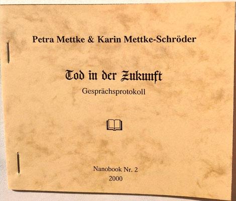 Petra Mettke/Tod in der Zukunft/Nanobook Nr. 2/2000/Einband