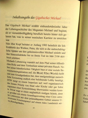 Karin Mettke-Schröder, Petra Mettke/Das Gigabuch Michael - Leseformat/Prospekt 1/2003/Seite 12