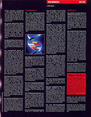 Petra Mettke, Karin Mettke-Schröder/Gigabuch Michael /Guinness Buch, Seite 85/1996