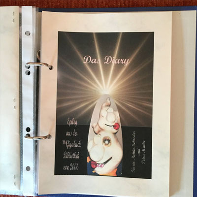 Karin Mettke-Schröder und Petra Mettke/Das Diary aus Oxada und Eybo, die Varianten ™Gigabuch Universum Band 1/ 2016/Cover