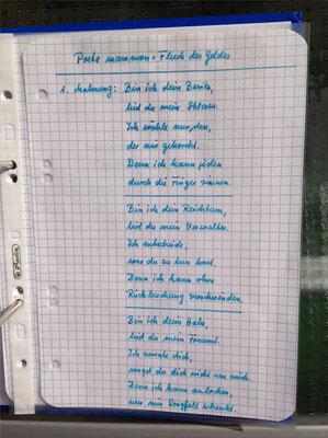 Petra Mettke/Gigabuch Winkelsstein 11/Original 2013/Poeta Mammon - Fluch des Geldes