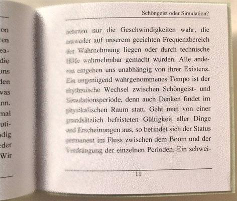 Petra Mettke, Karin Mettke-Schröder/Schöngeist oder Simulation?/Thesen zum Gigabuch Michael/Nanobook Nr. 9/2005/Seite 11