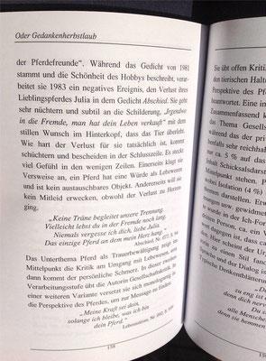 Karin Mettke-Schröder, Petra Mettke/Denkentblätterung/Gedichtband/Druckskript von 2003/Seite 158