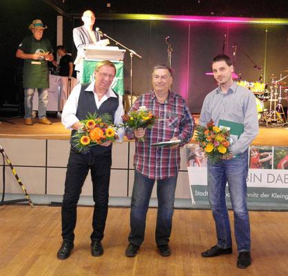 Eintragung in das Ehrenbuch des Stadtverbandes Chemnitz der Kleingärtner e. V. anlässlich des 8. Balls der Kleingärtner