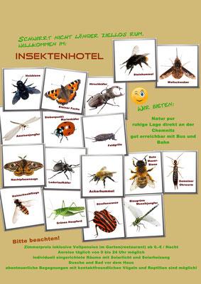 Poster von Gartenfreund Uwe Bachmann gestaltet