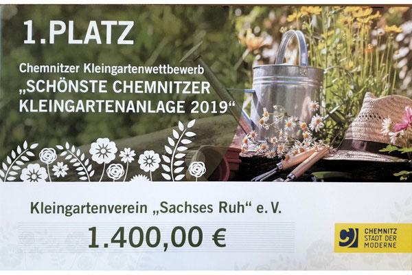Sieger-Scheck