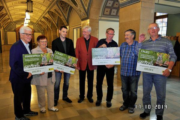 Gewinner des 2. Chemnitzer Kleingartenwettbewerbs