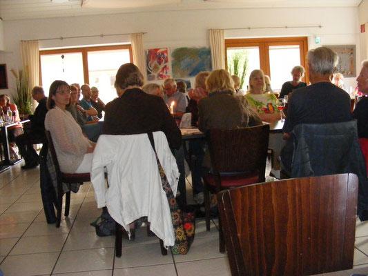 KUBI Cuxhaven - mit einer Menge netter Zuhörer