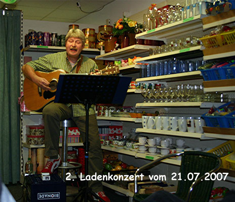 Ladenkonzert in Stade