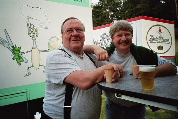 Hambühren I. Open Air mit Freund Gerd (gest. 11.09.2014)