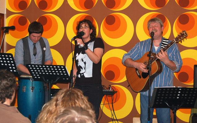 KulturDiele Steinkirchen I. mit Kathrin und Benjamin