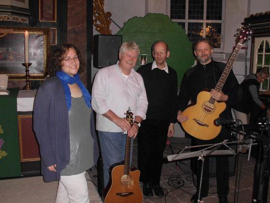 """Altar-Nativ Gottesdienst in Cadenberge - DIE BAND mit """"Kapellmeister"""" Kai Rudl"""