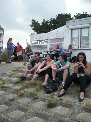 Geburtstagsständchen am Cuxhavener Strand