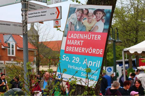 Ladenhütermarkt Bremervörde im April