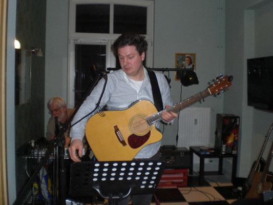 Konzert im La Gare - mit Sohn Benjamin