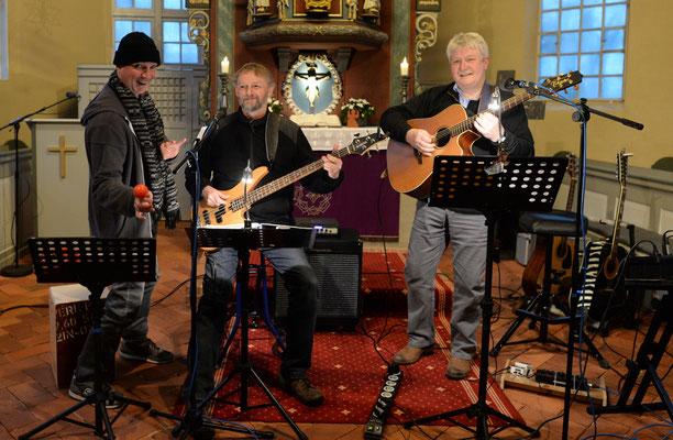 Friedenslieder Konzert Kirche Basbeck März