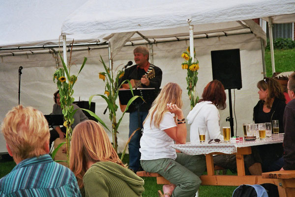 Sommerfest am Anleger in Oberndorf
