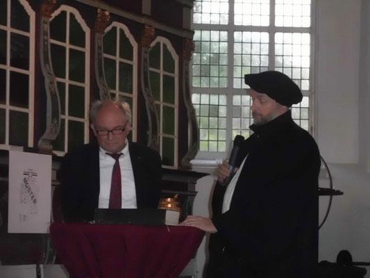 Altar-Nativ Gottesdienst in Cadenberge - Besuch von Martin Luther