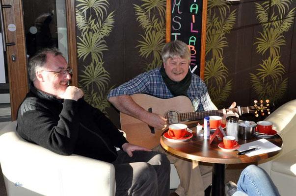 Konzert in Silvio's Diner in Hemmoor