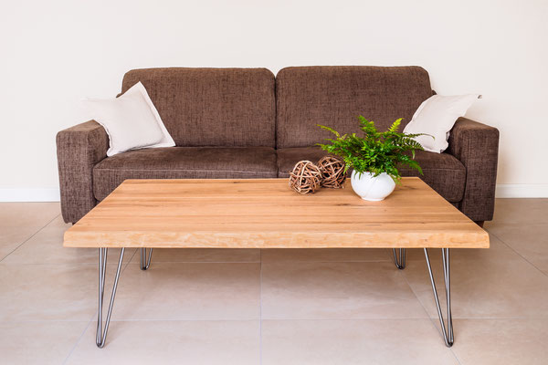 Echtholz Wohnzimmer Tisch