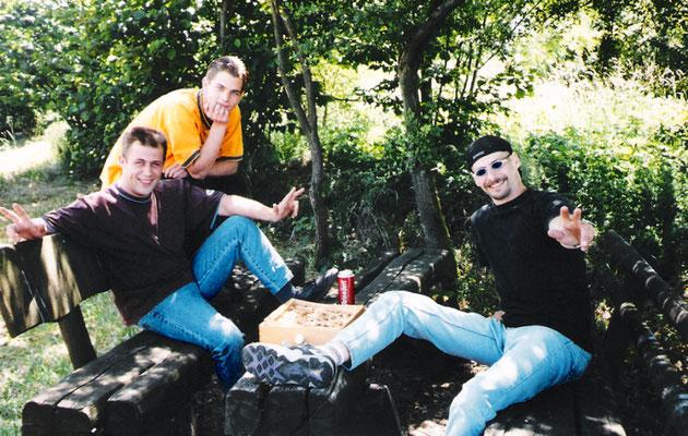 Dirk, Sven und Horst