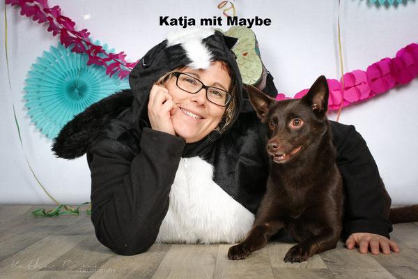 Katja mit Maybe