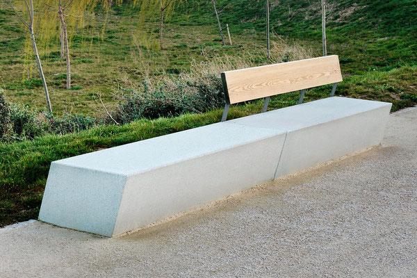 скамейки бетон