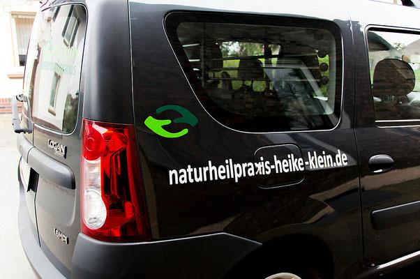 blickpunkte design Autobeschriftung Naturheilpraxis Heike Klein