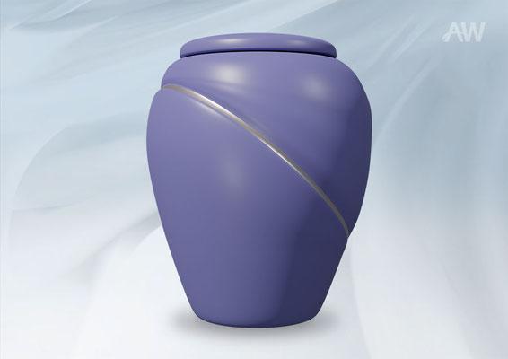 Bio Urne Silverline Blue
