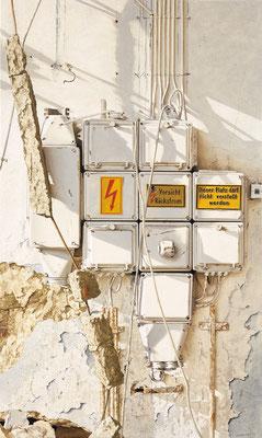 Rückstrom, Öl auf Leinwand, 75 x 125 cm, 2014