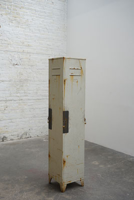 Schlösserturm, Öl/Acryl auf Leinwänden, 185 x 40 x 40 cm, 2017