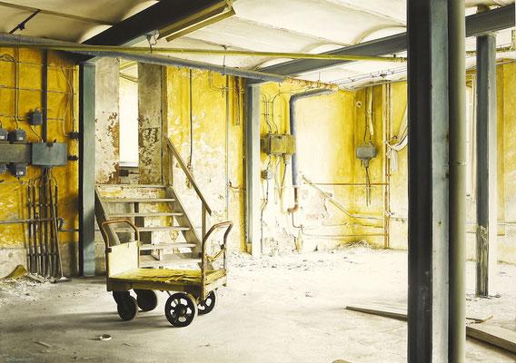 Besenrein, Öl auf Leinwand, 135 x 95 cm, 2020