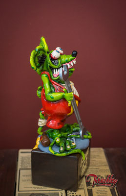 The Garage Fink, sculpted, casted handpainted, limited edition of 10