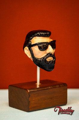 Handmade commission Shifter Knob, one of a kind