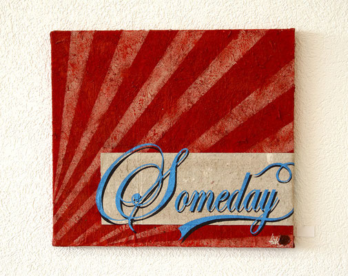 Someday , 60x60 cm