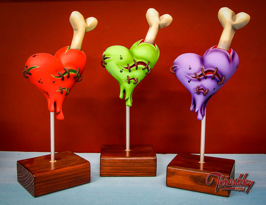Monster Heart, limited edition of 10