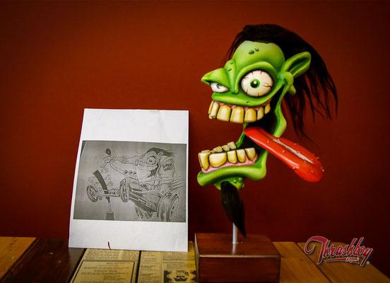 Fast Weirdo Zeichnung von Ben Michell aka Dragdaddys (USA)