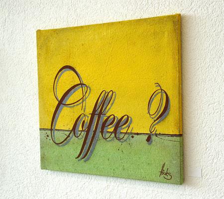 Coffee? , 60x60 cm