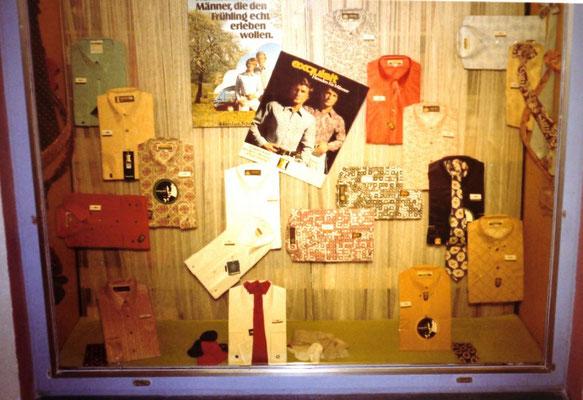 Mode-Auslage 1977