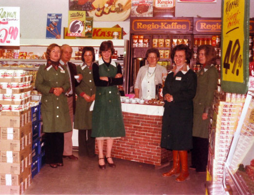 REGIO-Kaffeeverkostung 1977
